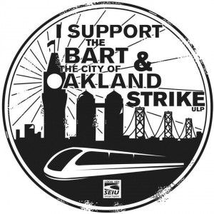 Bart Strike SEIU logo