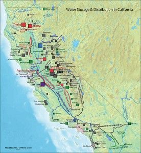 California water distribution system, wikimedia