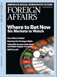 Foreign Affairs, Jan. 2014