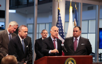 Gov. Brown redefines ongoing programs as emergency drought aid