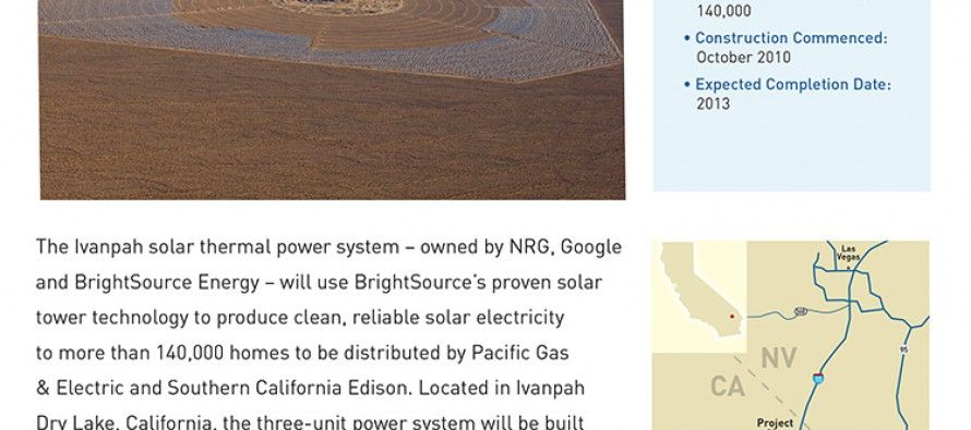 Ivanpah solar plant bets on wrong technology