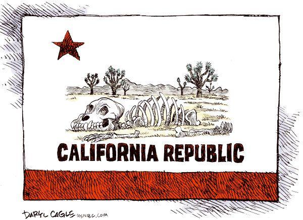 california drought, Cagle, Feb. 21, 2014