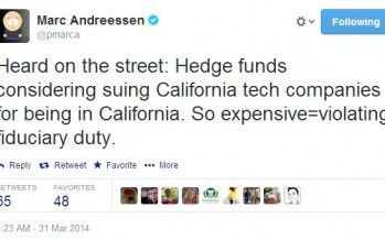 Andreessen: Does company HQ in CA violate fiduciary duty?