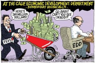 California skips unemployment money, wolverton, cagle, March 15, 2014