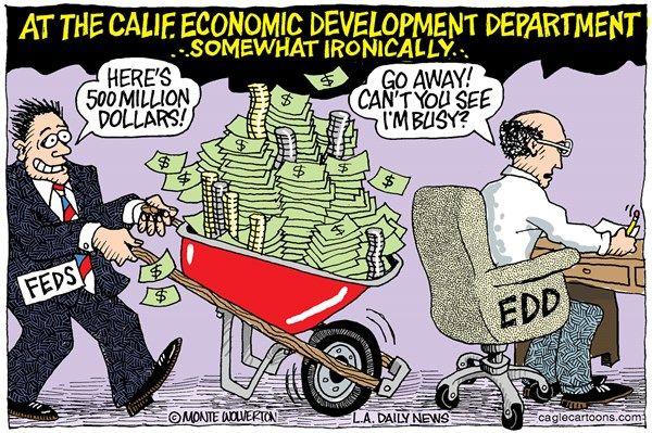 California skips unemployment money, wolverton, cagle, March 15, 2014