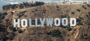 Hollywood sign, wikimedia