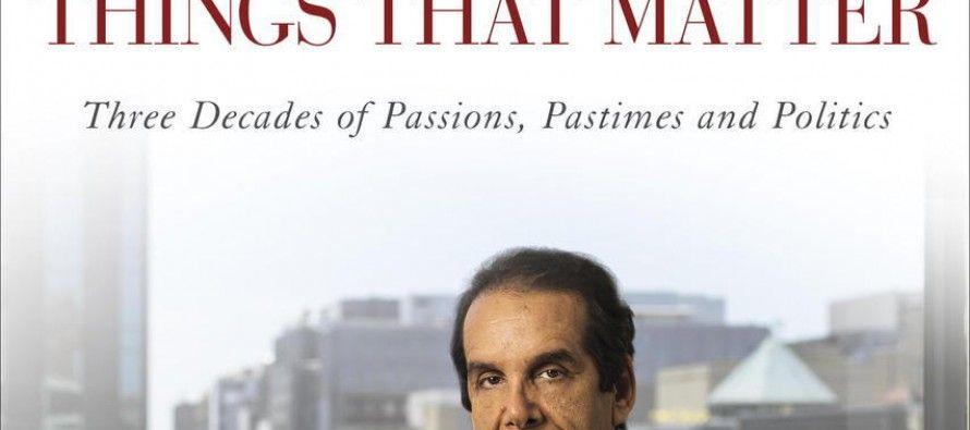 Krauthammer pulls plug on Obamacare at PRI Thatcher dinner
