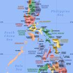 Philippines map, wikimedia