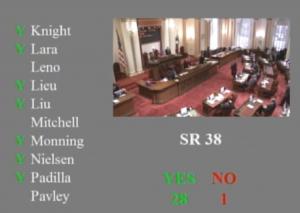 Senate explusion vote