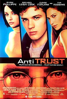 Antitrust movie poster