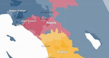 Map: Still the Anaheim Angels of Anaheim