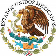 Mexico coat of arms, wikimedia