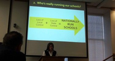 CA Parents opposing national Common Core school standards