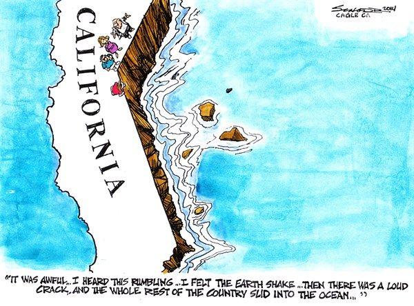 california earthquake, schorr, April 7, 2014