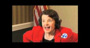 Dianne Feinstein's empty chair