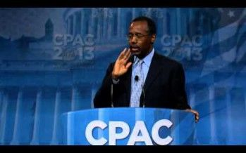 Dr. Ben Carson talks 'common sense' at CPAC