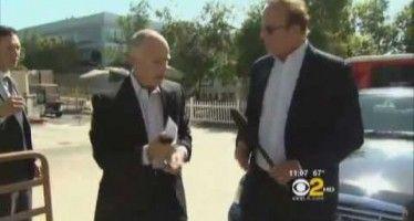 Gov. Brown calls CBS reporter 'thug'