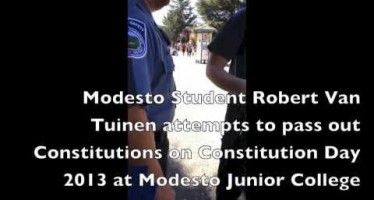 Modesto Junior College bans U.S. Constitution