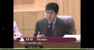 Sen. de Leon backs racial profiling of ammo sales