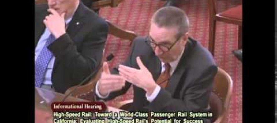 State Senate hearing casts doubt on high-speed rail