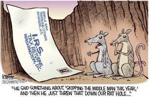 taxes, rat hole, mcKee, Cagle, April 15, 2014