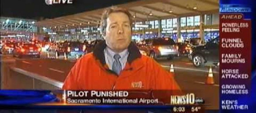 TSA Assaults Truth-Telling Cal Pilot