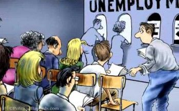Unemployed congressman cartoon