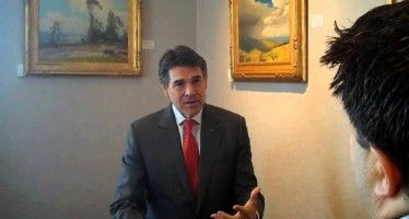 Video: FlashReport.org's Jon Fleischman interviews Gov. Rick Perry