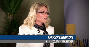 Video: Teacher challenges teachers' unions