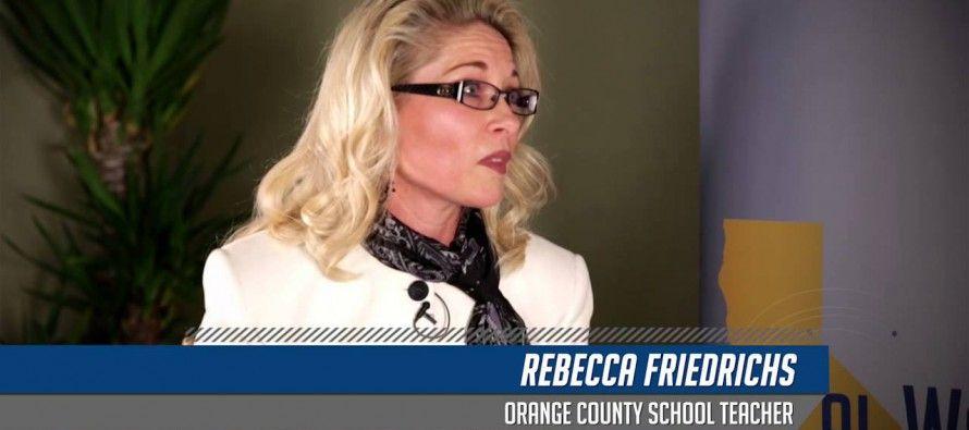 Video: Teacher challenges teachers' unions