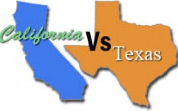 TX routs CA in education test scores
