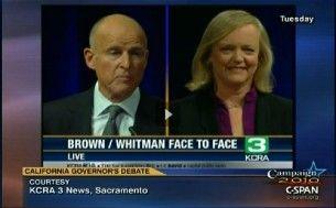 Brown Whitman debate