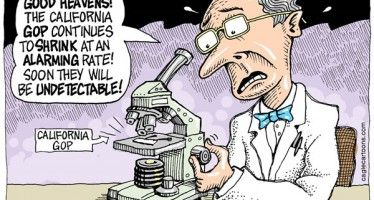 Shrinking CA GOP