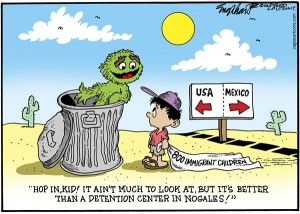 Immigration kids, Englehart, Cagle, June 23, 2014