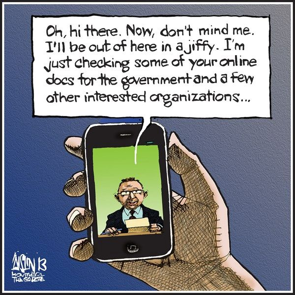cell phone, Aislin, cagle, June 25, 2014
