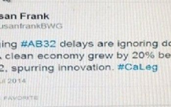 Green flack thinks <2% annual growth in CA 'cleantech' is impressive