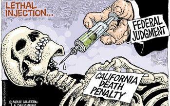 Cartoon: CA death penalty