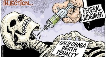 Cartoon: CA death penalty