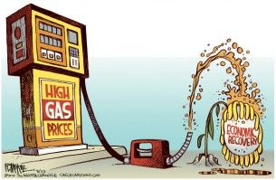 gas prices stunt recovery, mckee, cagle, July 3, 2014