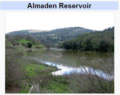 Almaden reservoir, wikimedia