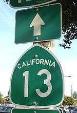 California traffic sign, wikimedia