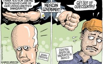 Cartoon: Mexico and immigration