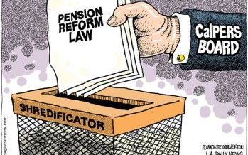 Cartoon: Pension reform