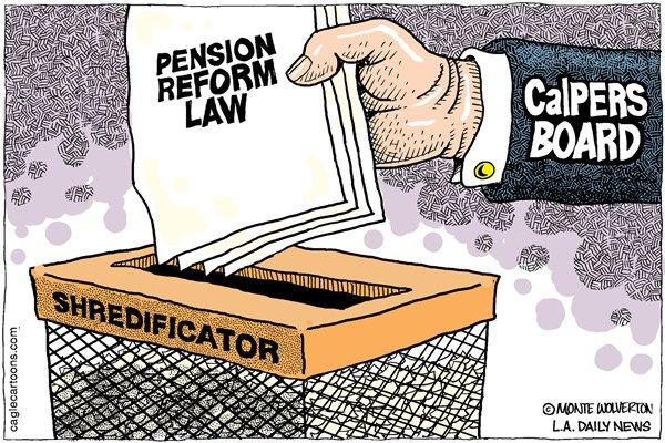 Pension reform shredded, Cagle, Wolverton, Aug. 25, 2014