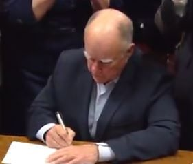 brown signing water bond
