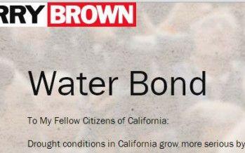 Landmark water bond now faces voters