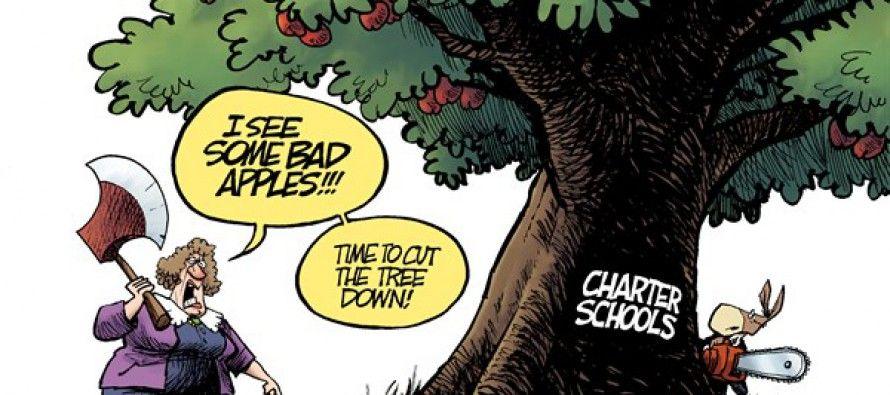 Cartoon: Unions vs. charter schools