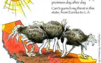 Cartoon: California Dryin'