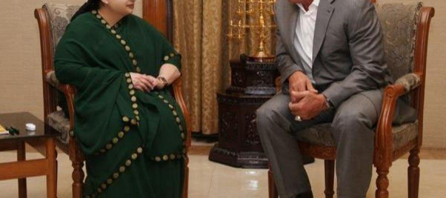 Arnold meets his match in India