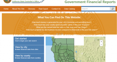Controller's website opens local governments' books
